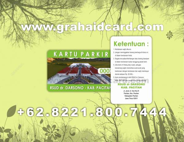 download format id card karyawan